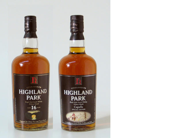 Highland Park CapellaHighland Park-16 year old
