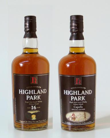 Highland Park CapellaHighland Park-16 year old