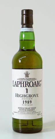 Laphroaig Highgrove-1989