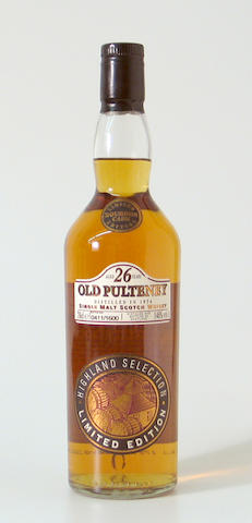 Old Pulteney-26 year-old-1974