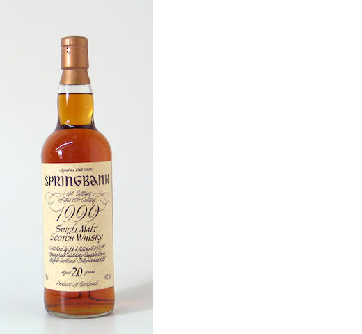 Springbank-20 year old
