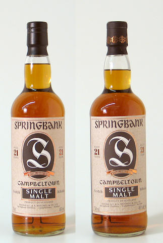 Springbank-21 year old (2)