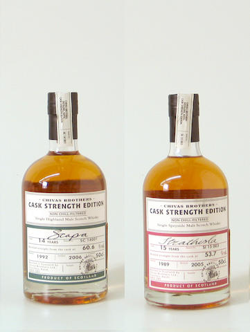 Scapa-14 year old-1992Strathisla-15 year old-1989