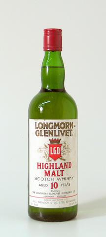 Longmorn-Glenlivet-10 year old