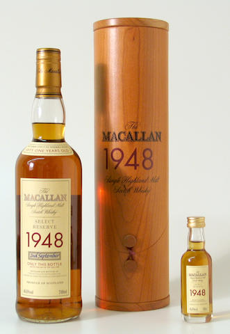 The Macallan Select Reserve-51 year old-1948