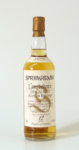 Springbank-12 year old-1979