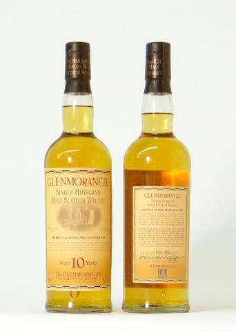 Glenmorangie 100 Best in UK-1993-10 year old