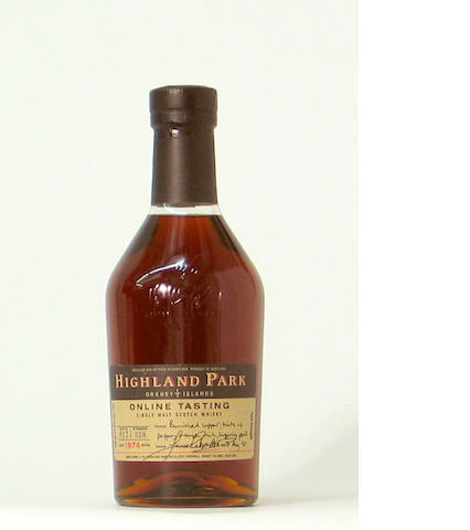 Highland Park On Line Tasting-1974