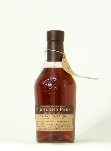 Highland Park On Line Tasting-1974