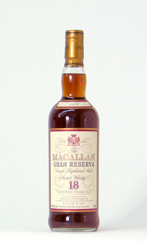 Macallan Gran Reserva -18 years old-1979