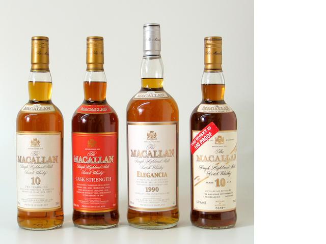 The Macallan Elegancia-1990The Macallan-10 year oldThe Macallan-10 year oldThe Macallan Cask Strength
