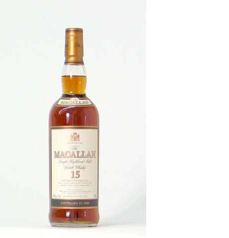 The Macallan-15 year old-1985