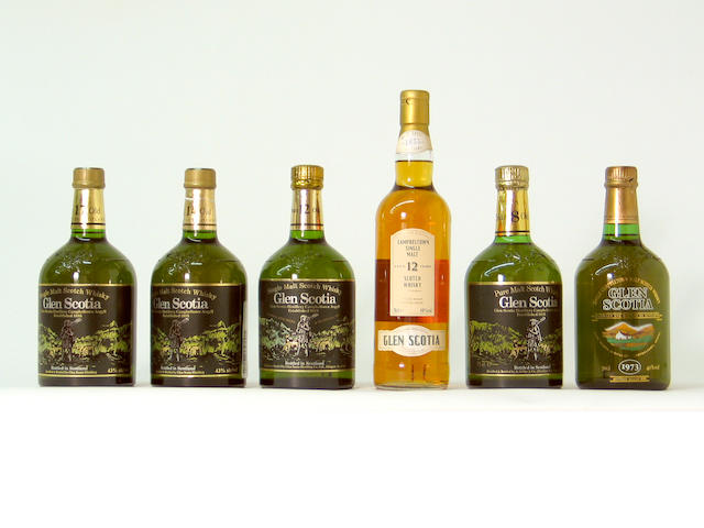 Glen Scotia-1973Glen Scotia-8 year oldGlen Scotia-12 year oldGlen Scotia-12 year oldGlen Scotia-14 year oldGlen Scotia-17 year old