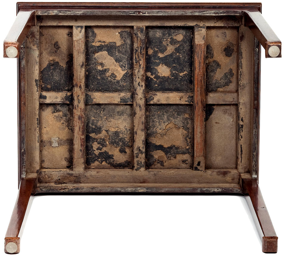 A huanghuali and burlwood wine table, Jiuzhuo 17th/18th Century