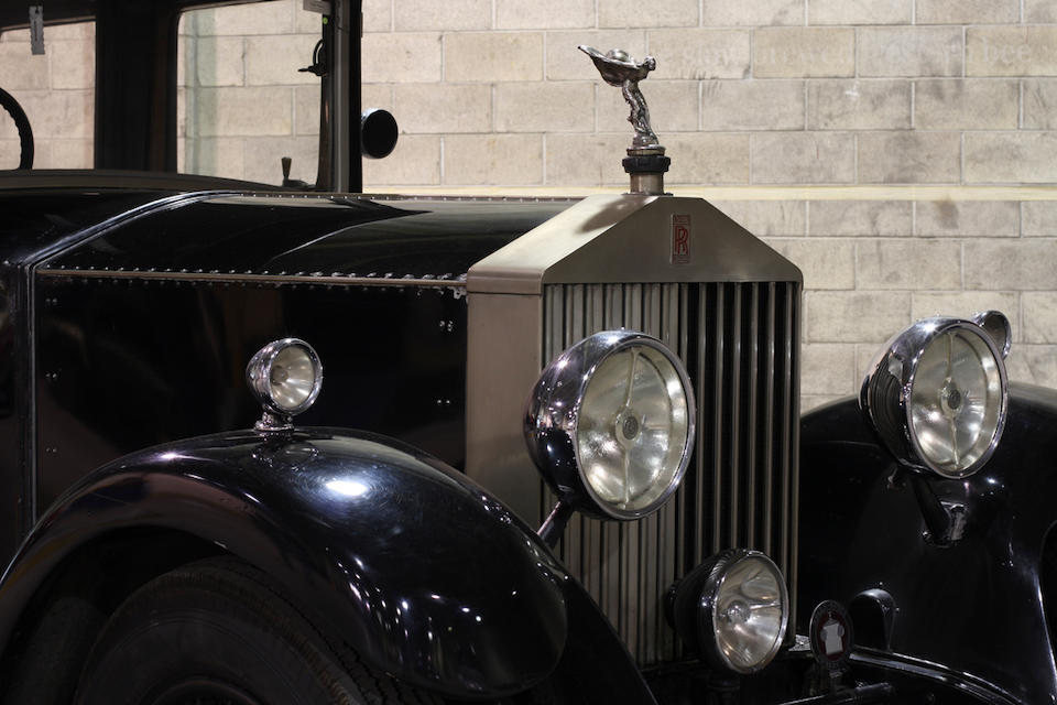 From the LeMay Collection,1930 Rolls-Royce 20/25 Enclosed Limousine Landaulette  Chassis no. GSR59 Engine no. K6W