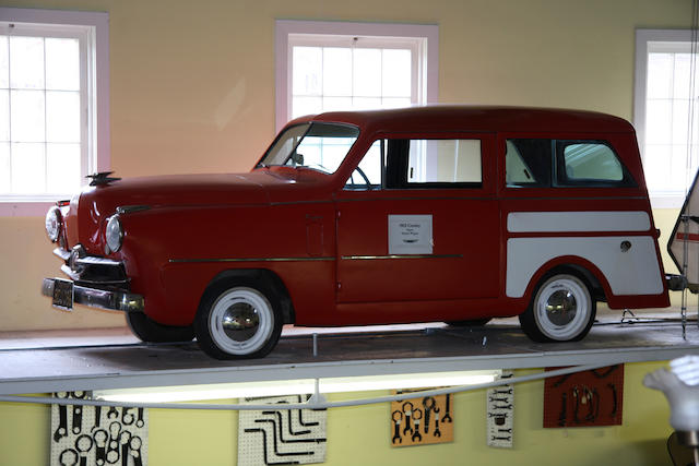 From the LeMay Collection,1951 Crosley Super Wagon  Chassis no. CD305293