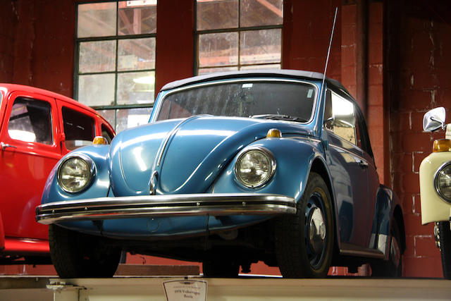 1970 Volkswagen Beetle Convertible  Chassis no. 1502308500