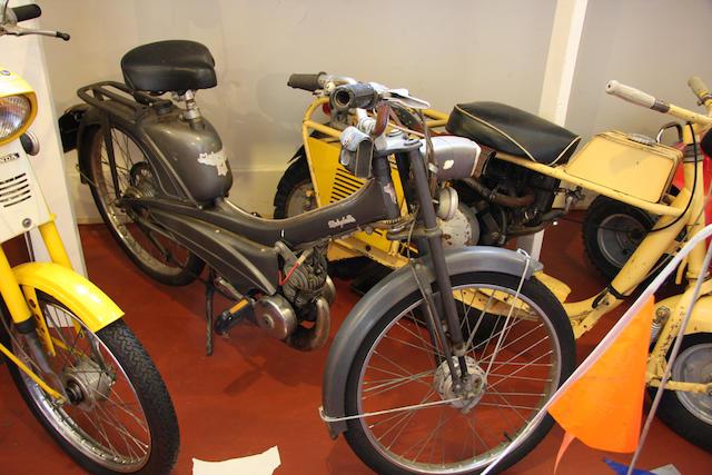 1977 Motobecane Mobylette Moped Engine no. 4935934
