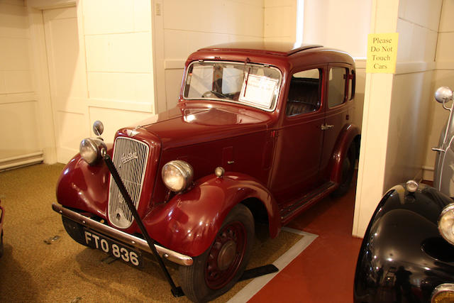 1939 Austin 10hp Cambridge Saloon  Chassis no. 11583