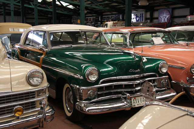 From the LeMay Collection,1950 Chrysler Town & Country Newport Coupe  Chassis no. C497767