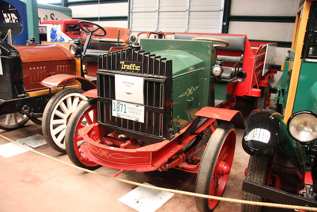 1919 Traffic Flatbed Truck  Chassis no. 18641 Engine no. A642240892