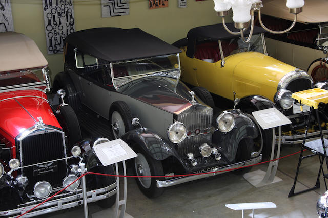 1935 Rolls-Royce 25/30 Touring  Chassis no. GLJ58