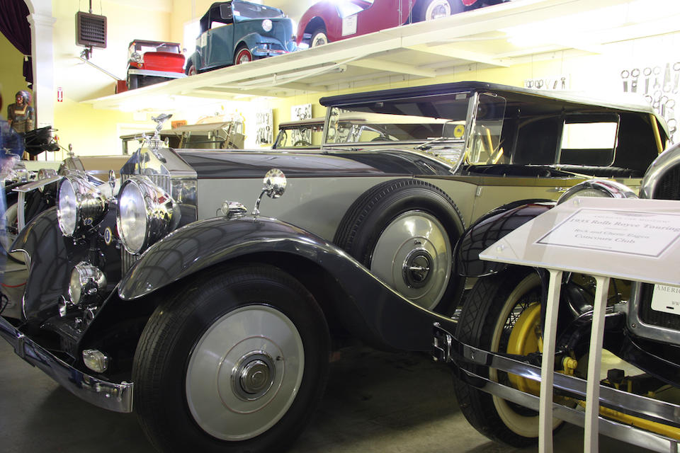 From the LeMay Collection,1936 Rolls-Royce 25/30 Touring  Chassis no. GLJ58