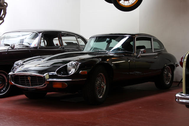 From the LeMay Collection,1971 Jaguar XKE Series III 2+2 Coupe  Chassis no. 1S71801BW