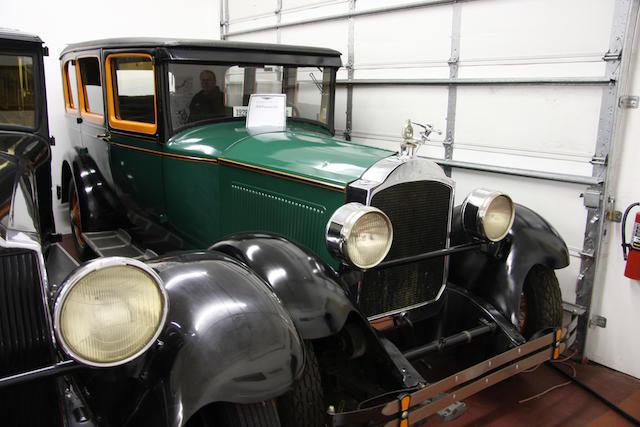 1928 Packard Single Six Model 526 Sedan  Chassis no. U138301