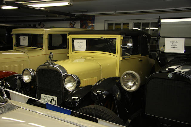 1928 Dodge Series 128 Convertible Coupe  Chassis no. D973941