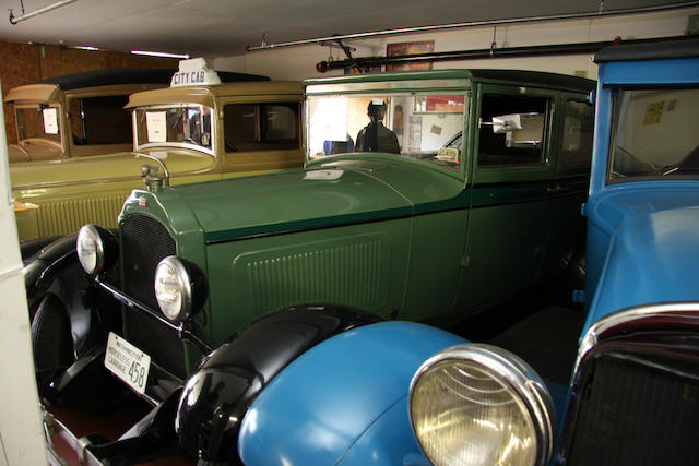 1928 Willys-Knight Model 56 Sedan  Chassis no. 35621