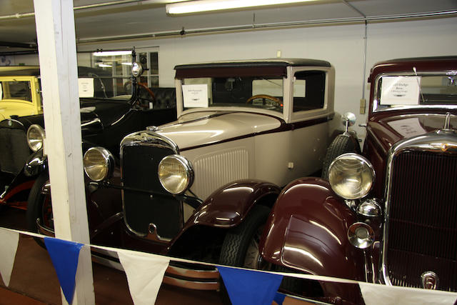1929 Plymouth Model 322 Coupe  Chassis no. 471824