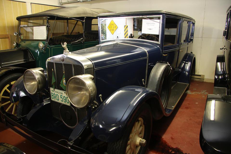 1928 Franklin Airman 7-Passenger Limousine  Engine no. E127009