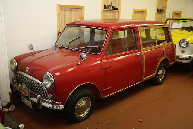 From the LeMay Collection,1963 Austin Mini 850 Traveller Woodie  Chassis no. AAW7L425053