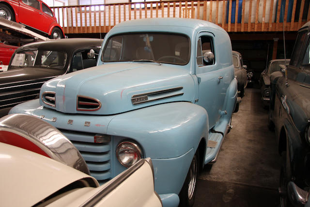 From the LeMay Collection,1949 Ford F-3 Pracel Delivery Street Rod  Chassis no. 97HC199445