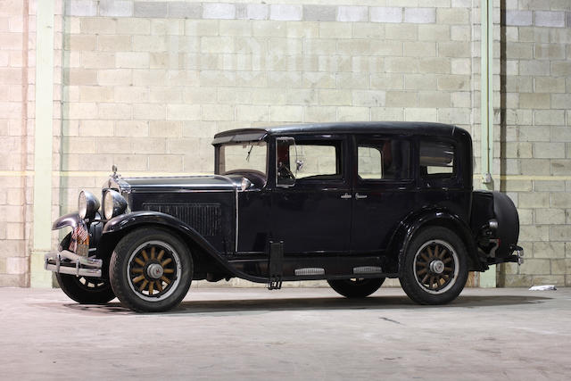 From the LeMay Collection,c1930 Hupmobile Model S Sedan  Chassis no. 9841605 Engine no. 128193