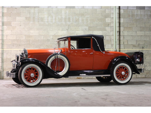 From the LeMay Collection,1929 Buick Series 121 Convertible  Chassis no. 2205448