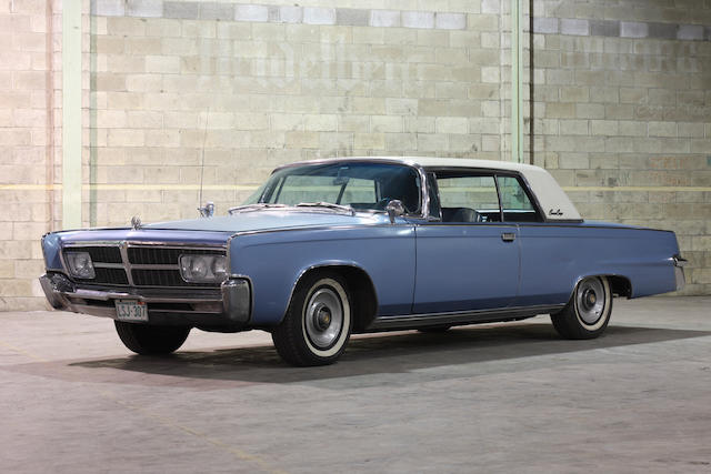 1965 Chrysler Crown Imperial Coupe  Chassis no. Y253132583