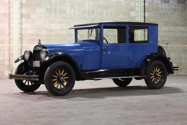 1925 Hudson Super Six Coupe  Chassis no. 604900