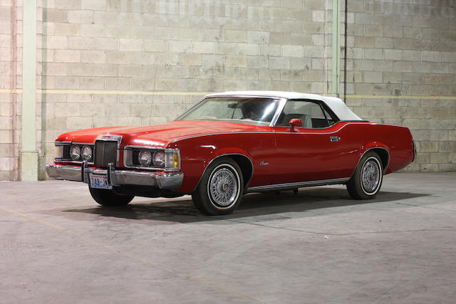 1973 Mercury Cougar Coupe  Chassis no. 3F94H577068