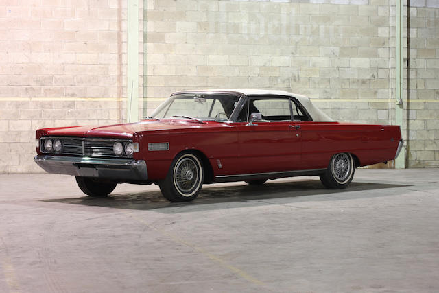 1966 Mercury S55 Convertible  Chassis no. 6W46Q500808
