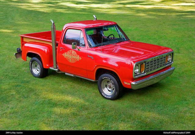 "1978 Dodge D150 ""Li'l Red Express""  Chassis no. D138S8J513339"