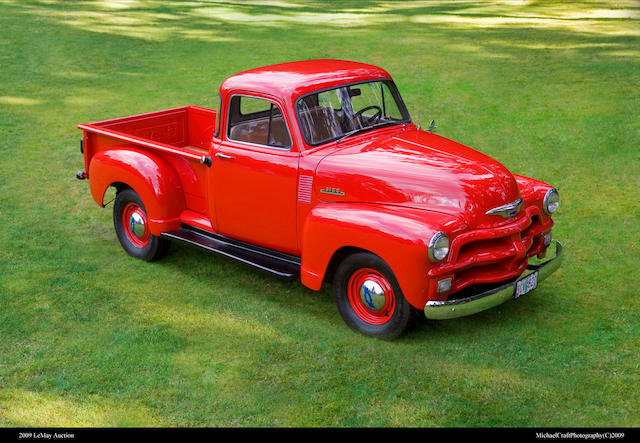From the LeMay Collection,1954 Chevrolet 3100 5-Window Pickup  Chassis no. A5407510