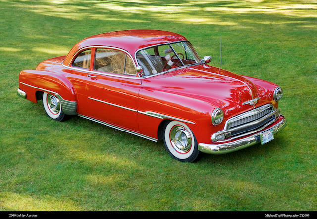 From the LeMay Collection,1951 Chevrolet Styline Deluxe Coupe  Chassis no. JAA722797