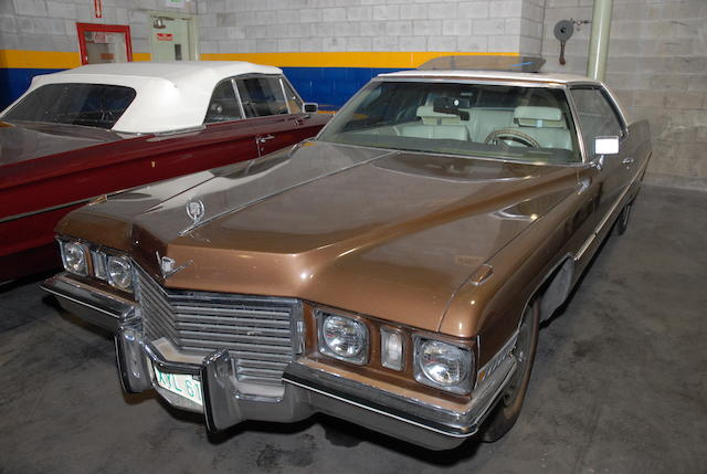 1972 Cadillac Coupe DeVille  Chassis no. 6D47R2Q231696