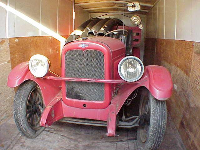 1937 Chevrolet GE Firetruck  Chassis no. T420670
