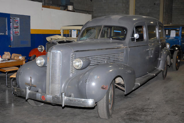 1937 LaSalle Ambulance  Chassis no. 2250229