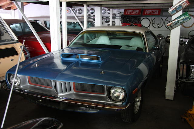 1974 Plymouth Barracuda Coupe  Chassis no. BH23G4B1866438