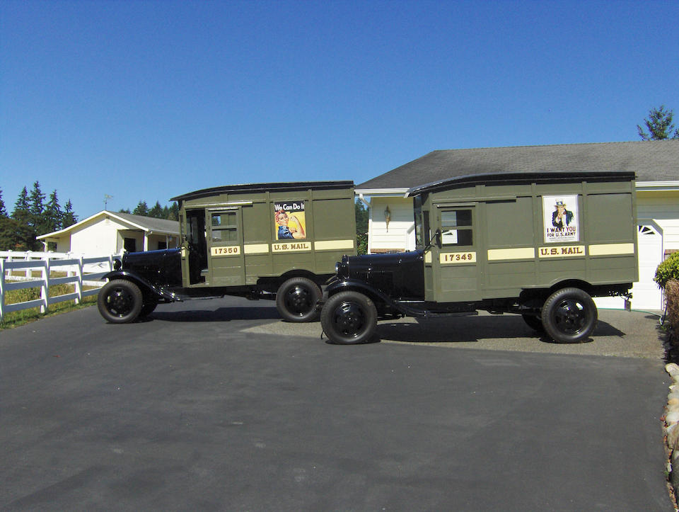 #17350,1931 Ford Ford Model AA Postal Delivery Trucks  Chassis no. AA4828082