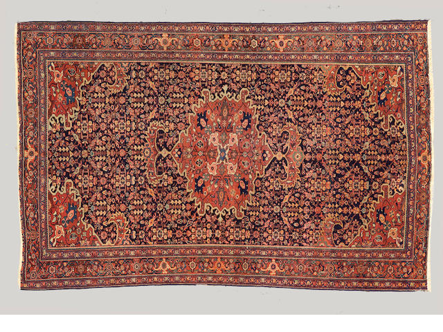 A Fereghan Sarouk carpet  Central Persia, size approximately 4ft. 2in. x 6ft. 6in.